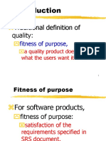 Software engineering quality management