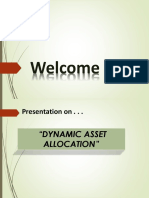 Dynamic Asset Allocation Strategy-2
