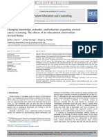 Changing knowledge, attitudes, and behaviors regarding cervical cancer screening, the effects of an educational intervention in rural kenya.pdf