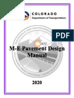 2020 Pavement Design Manual