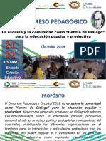 Orientaciones Estadal Del Congreso Pedagógico Circuital 2019