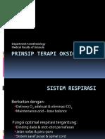Prinsip Terapi Oksigen