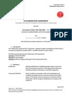 Templatecollaboration Agreement