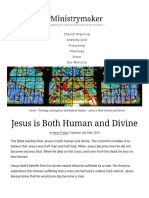 Jesus is Both Human and Divine - Ministrymaker