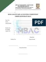 formulir pendaftaran MBAC