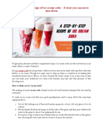 A Step-By-step Recipe of Ice Cream Soda – a Treat You Can Never Turn Down
