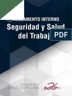 Reglamento Interno Seguridad y Salud del Trabajo
