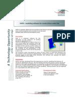 Safir-modelling Software for Construction Under Fire V100707