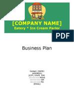 Business Plan Ice Cream Parlor