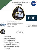 Astrobee Robot Simulator Profiling - González - 2018