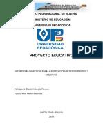 PROYECTO EDUCATIVO 2020 INDICE.docx