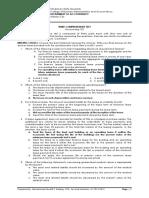 12.Third Comprehensive Test
