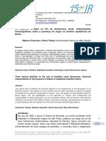 RIBEIRO, F. T. Da segunda abolição ao fim da democracia racial - interpretações historiográficas sobre a presença do negro na história republicana do Brasil.pdf