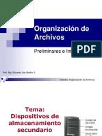organizacion de archivos
