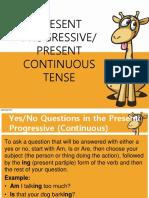 13. Present Continuous