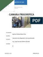 INFORME DE REFRI - Camara Frigorifica.docx