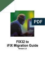 Ifix Migration Guide
