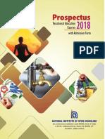 Prospectus of NIOS
