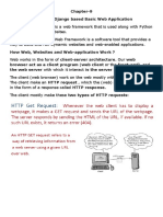 Chapter-9 Creating a Django Based Basic Web Application