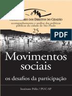 Movimentos Sociais-os Desafios Da Participacao
