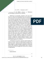 de Pedro v. Romasan Development Corp. (2014)