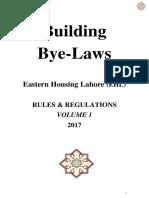 Building Bye -Laws - EHL