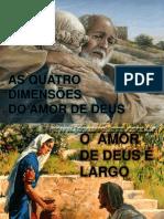 As Quatro Dimensoes Do Amor de Deus