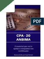 Apostila CPA-20