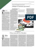 El Fin Del Milagro Económico Peruano