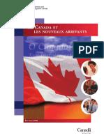 Los nuevos inmigrantes a Canada
