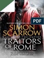 (Eagles of the Empire 18) Scarrow, Simon - Traitors of Rome (Eagles of the Empire 18)