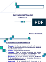 Capitulo 12 Diatesis Hemorrágica