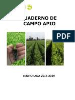 Cuaderno Campo Apio 2019
