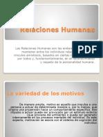 Relaciones Humanas I