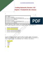 CCNA 3 - Correction  Examen chapitre 7 Évolutivité des réseaux -  Scaling Networks (Version 5.0) (1).pdf