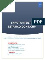 Enrutamiento Estático Con Dchp