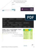 CCNAzd 1 (v5.1 + v6.0) Chapter 1 Exam Answers 2019 - 100% Full