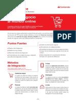 Ficha Tpv Ecommerce Banco Santander