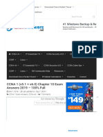 CCNA 1 (v5.1 + v6.0) Chapter 10 Exam Answers 2019 - 100% Full