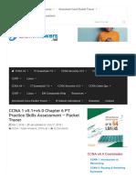 CCNA 1 v5.1 + v6.0 Chapter 6 PT Practice Skills Assessment - Packet Tracer