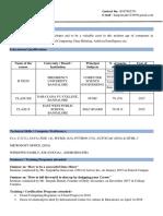 20171CSE0240 HariPrasad Resume