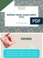 Inspeksi Visual Asam Asetat