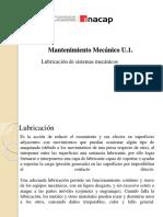 Clase Mantenimiento Mecánico U.1. Lubricantes (1)