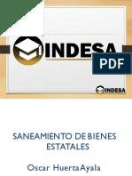 Saneamiento de Bienes Estatales 2019