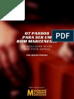 eBook 07 Passos Para Ser Um Bom Marceneiro