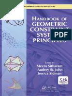 Handbook of Geometric Constraint System Principles