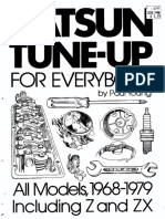 Datsun Tune-Up & Repair 1968-79 and Z-ZX