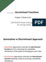 LinearDiscriminantFunctions.ppt