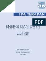 Modul IPA Energi Dan Daya Listrik