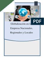 Impacto de La Globalización en Las Empresa Nacionales